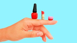 5 DIY Real Miniature Makeup