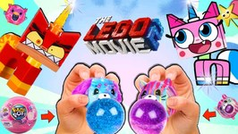 The Lego Movie 2 UNIKITTY VS ANGRY UNIKITTY - Surprise Squishy Toy Game