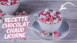 Recette Chocolat Chaud Licorne Rose Facile Et Rapide