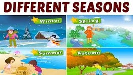 Learn Different Seasons For Kids - Learning Seasons For Kids - Pre School Learning And Kids Education