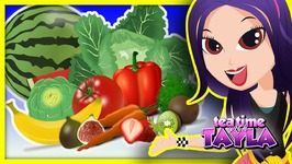 Learn Fruits and Vegetables for Kids - Healthy Habits for Children - Healthy Food for Babies