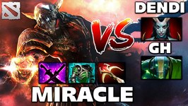 Miracle Sven vs DENDI and GH Dota 2