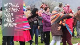 Celebrating New Year's To Reaffirm Identity In Chile