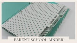Back To School Tips  Parent School Binder Organization