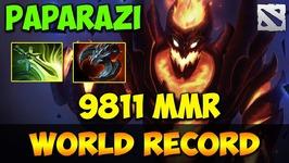 Paparazi 9811 MMR WORLD RECORD Dota 2