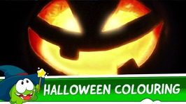 Learning Colors with Om Nom - Halloween Special
