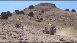 Hezbollah, Lebanese, and Syrian Fighters Celebrate Islamic State Evacuation to Iraqi Border