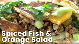 Spiced Fish And Orange Salad
