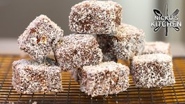 Keto Lamingtons / Low Carb Sponge Cake