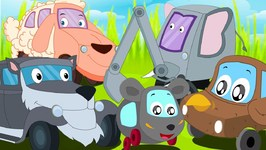 The Animals Song - Kindergarten Nursery Rhymes For Babies by Kids Channel