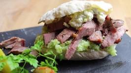 Lamb Pita Burger