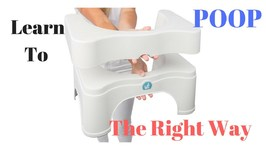 Learn to Poo the Right Way I Squatty Potty