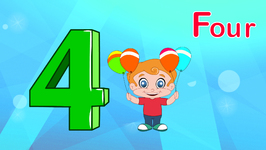 Number Four - Learning Numbers for Kids