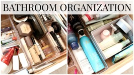 Bathroom Organization   Cleanout