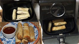 How about Use Air Fryer To Make Spring Rolls?