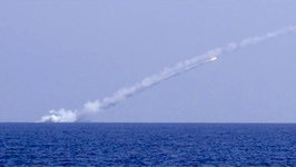 Russian Subs Launch Cruise Missiles at IS Targets Near Deir Ezzor