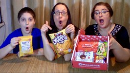 Trying Korean, British And Japanese Snacks -Gay Family Mukbang - Eating Show