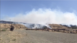 Elm Fire Consumes 4,000 Acres in Fresno County