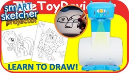 Smart Sketcher Projector How To Draw Sketch Trace Fluttershy Unboxing Toy Review