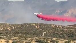 California's Manzanita Fire Nears 6,000 Acres, Evacuation Orders Expanded