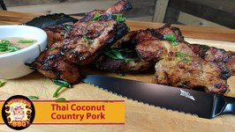 Thai Coconut Pork On The Kamado Joe Classic
