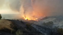 San Luis Obispo County Wildfire Burns 1,200 Acres, Triggers Evacuation Orders