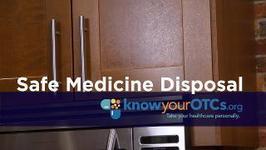 Safe Medicine Disposal