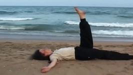 Yoga Exercise for Beginners - Jatara Parivritta Asana - Twisted Stomach Pose