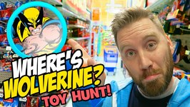 Wolverine Toys Hunt And Toys R Us Shopping Imaginext Marvel Toys Ninja Turtles