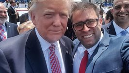 Trump Poses for Selfie With Knesset Member Who Was Suspended Over Drug, Prostitution Allegations