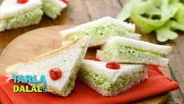 Cucumber Cottage Cheese Sandwich
