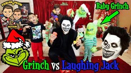 GRINCH vs LAUGHING JACK BATTLE - D and D SQUAD BATTLES