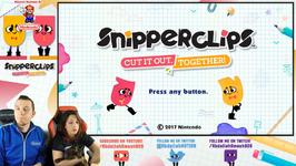 Snipperclips - World 3- Silly Science Co-Op 100 Walkthrough- Ep 11