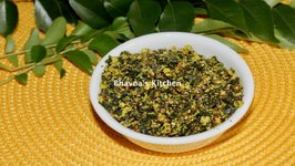 Curry Leaves Or Mitho Limdo Or Kadi Patta Chutney Video