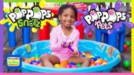 Pop Pops Slimefest at Clamour 2019 Pop Pops Slime Fun Kyraboo vs Kamdenboy