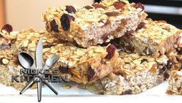 Banana And Oat Slice (No Added Sugar) - Healthy Recipe