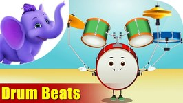 Drum Beats - Musical Instrument Song