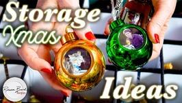 Christmas Decoration Organization Idea - Storage Ideas