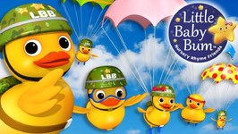 Six Little Ducks - Little Baby Bum - Nursery Rhymes for Babies - Songs for Kids