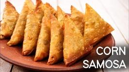 Corn Samosa - Hyderabadi Irani Crispy Snack