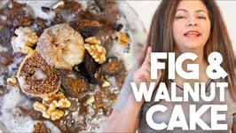 Fig And Walnut Cake - Instant Pot