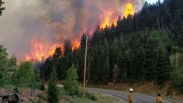 Wildfire Near Brian Head, Utah, Grows to 10,000 Acres