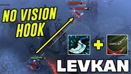 Levkan Pudge - NO VISION HOOKS - Dota 2 Blind Hook