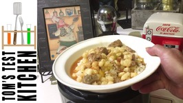Easy Pozole -Hominy And Pork Stew