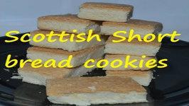 Scottish Short Bread Cookies-Eggless