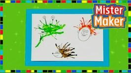 Blow Paint - Mister Maker