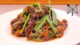 Sizzling Ginger Beef - Asian Take-away Recipe
