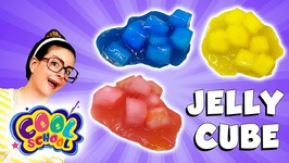Craft Jelly Cube Slime - Arts and Crafts with Crafty Carol - Cartoon Stories for kids