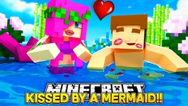 LITTLE DONNY KISSES A MERMAID w/ MERMAID BABY LEAH!! Minecraft Custom Roleplay