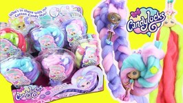 Candylocks Dolls FULL BOX Opening! Cotton Candy Hair  Doll Hairstyles (Series 1)